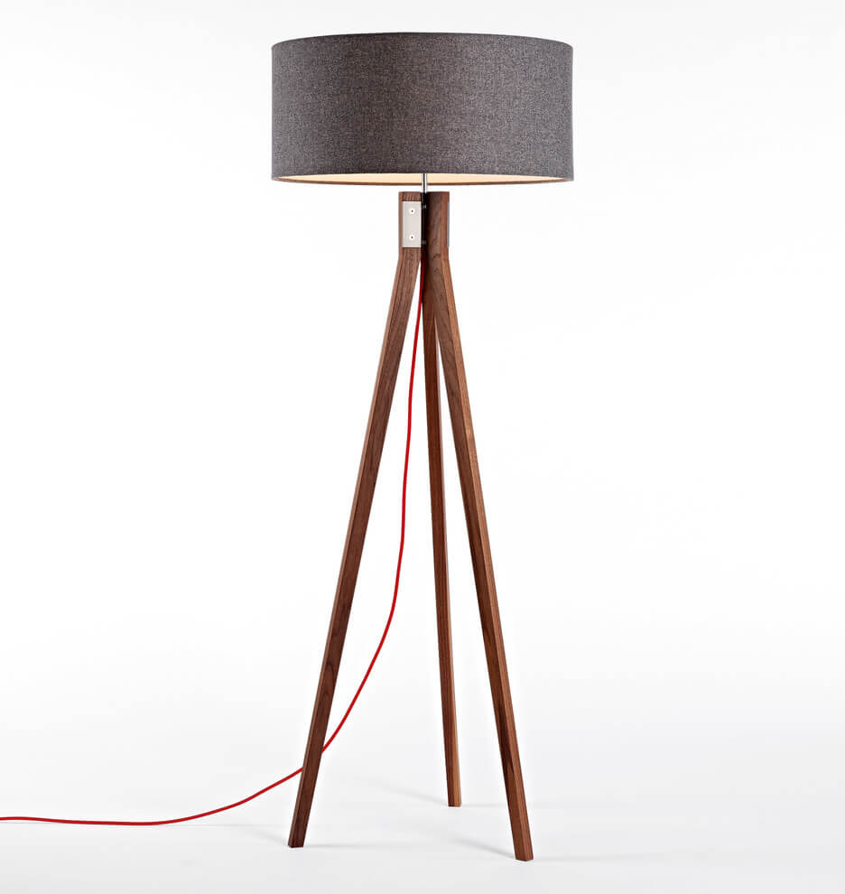 Tripod Floor Lamp Folk Built