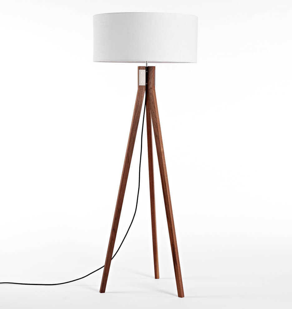 Tripod Floor Lamp Folk Built