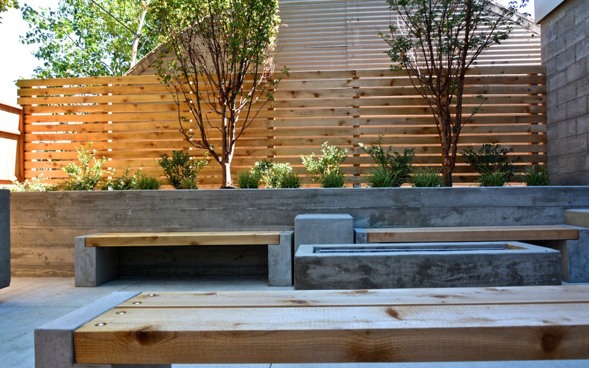 hawthorne outdoor benches